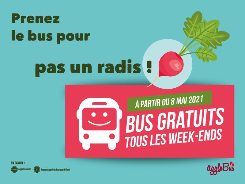 Bus gratuit le weekend
